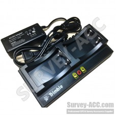 TRIMBLE DUAL CHARGER FOR 5700/5800/R8/R7/R6 GNSS GPS 54344 92600 BATTERY