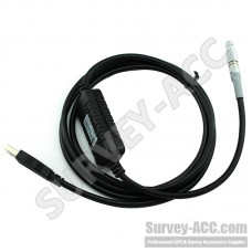 GEV267 USB Data Transfer Cable 806093 connects Viva Total Stations and DNA Series Digital Levels (WIN 7/8) to PC