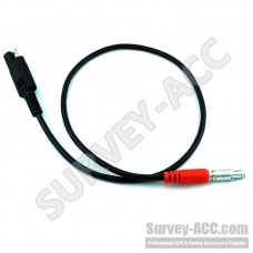 Topcon Power Cable for Hiper/Legacy/GB/GR-3 to SAE 2-pin connector GPS